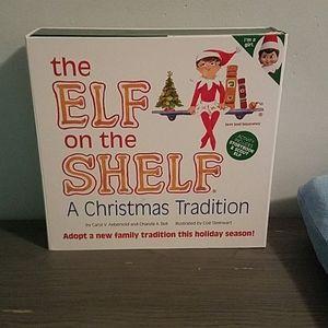 Elf on the Shelf complete set (girl elf)